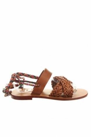 Сандали Antik Batik, Размер 37, Цвят Кафяв, Естествена кожа, Цена 63,90лв.