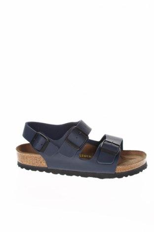 Sandály  Birkenstock, Veľkosť 35, Farba Modrá, Eko koža , Cena  48,25€