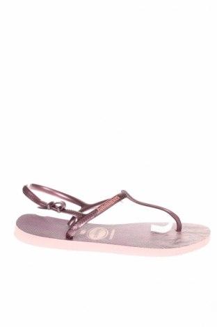 Sandály  Havaianas, Veľkosť 40, Farba Fialová, Polyurethane, Cena  14,07€