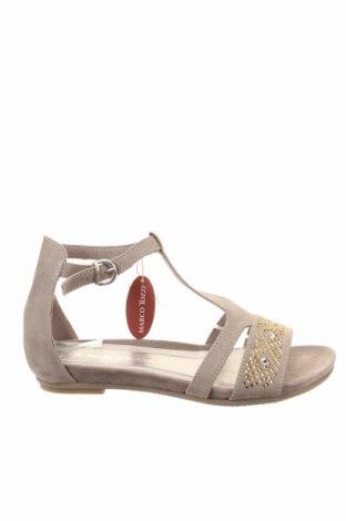 Sandály  Marco Tozzi, Veľkosť 39, Farba Béžová, Textil, Cena  17,68€