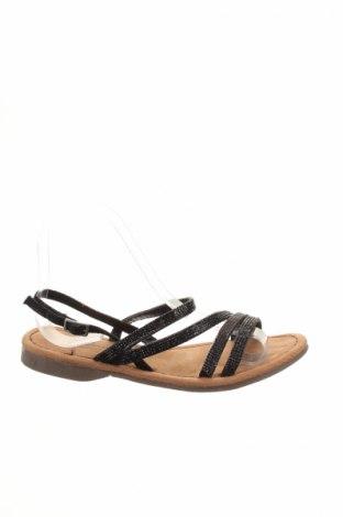 Sandale Mustang, Mărime 37, Culoare Negru, Piele ecologică, Preț 64,11 Lei