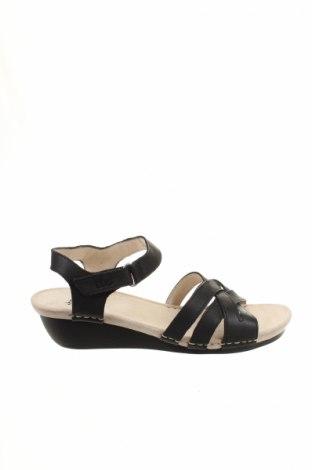 Sandály  Tbc, Veľkosť 40, Farba Čierna, Pravá koža , Cena  30,31€