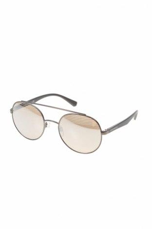 Слънчеви очила Emporio Armani, Цвят Сив, Цена 95,60лв.