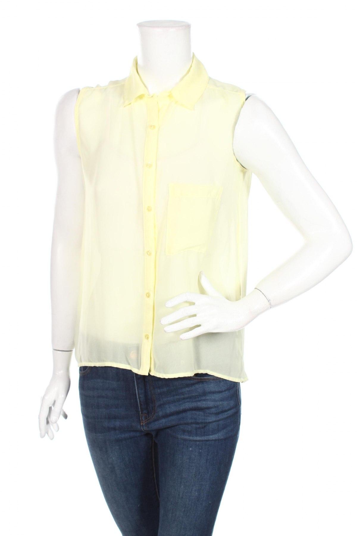 Дамска риза, Размер M, Цвят Жълт, Цена 4,46лв.