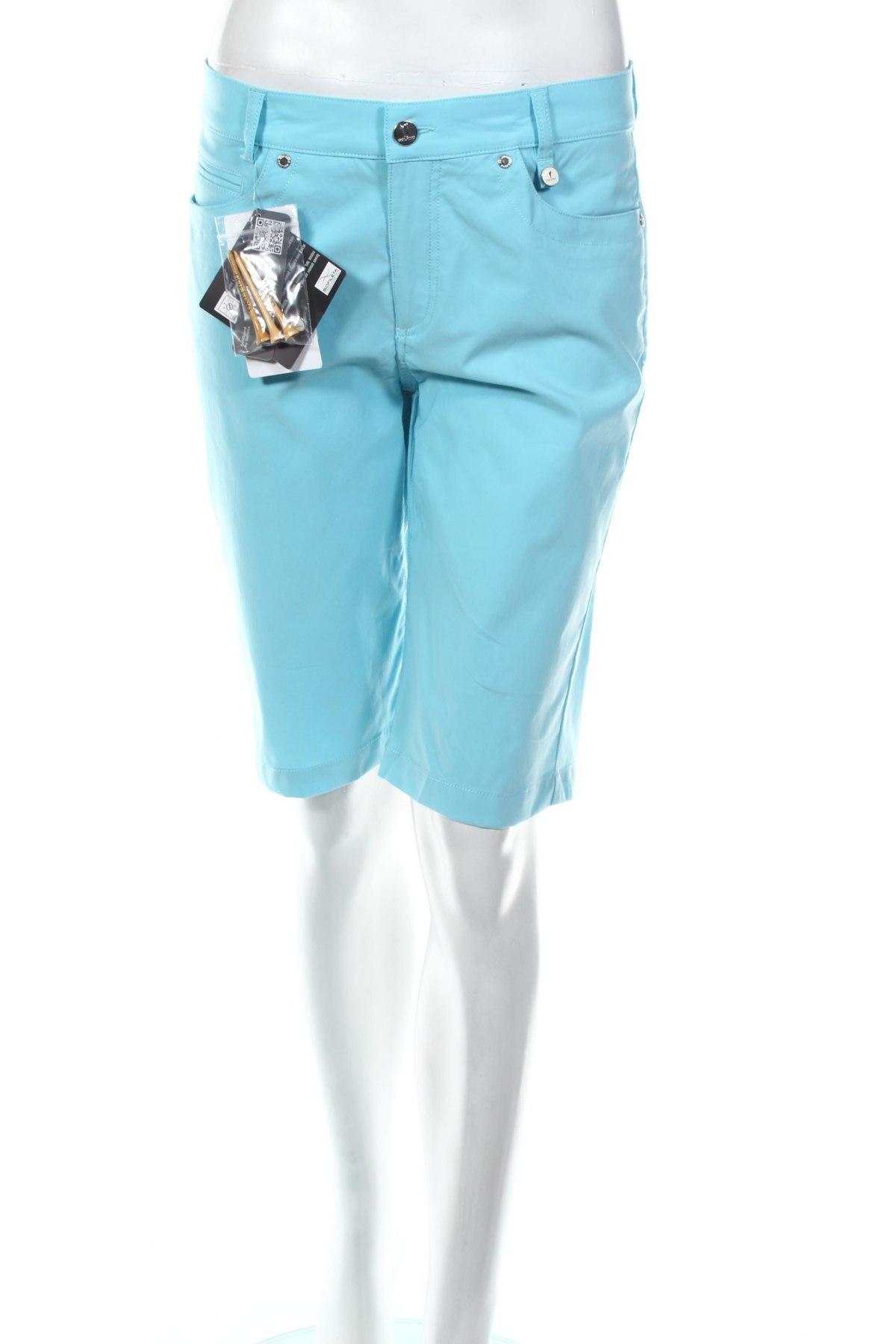 Γυναικείο κοντό παντελόνι Golfino, Μέγεθος M, Χρώμα Μπλέ, 94% πολυαμίδη, 6% ελαστάνη, Τιμή 16,08€