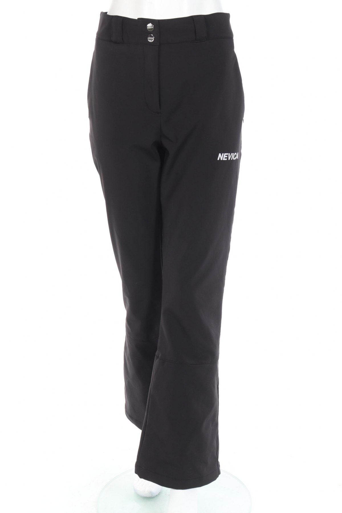 Дамски панталон за зимни спортове Nevica, Размер L, Цвят Черен, 88% полиамид, 12% еластан, Цена 54,12лв.