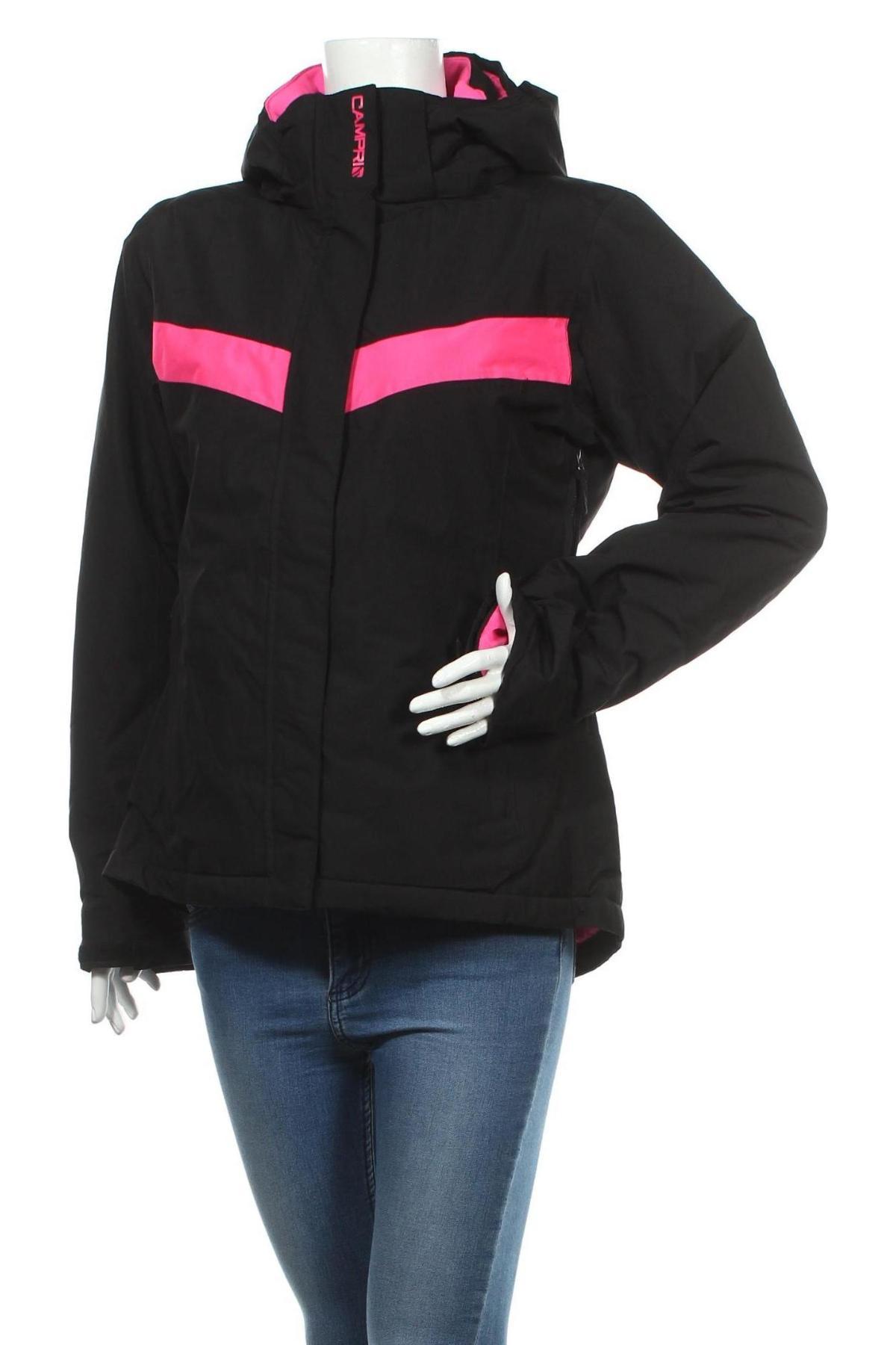 Дамско яке за зимни спортове Campri, Размер XL, Цвят Черен, Полиестер, Цена 67,20лв.