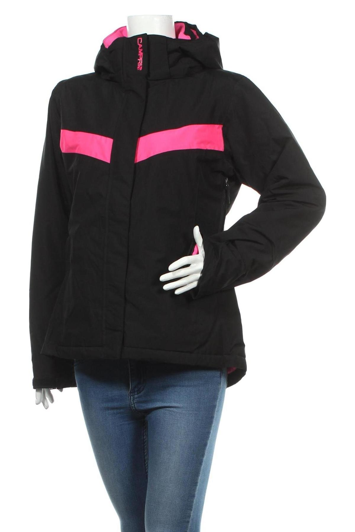 Дамско яке за зимни спортове Campri, Размер L, Цвят Черен, Полиестер, Цена 91,00лв.