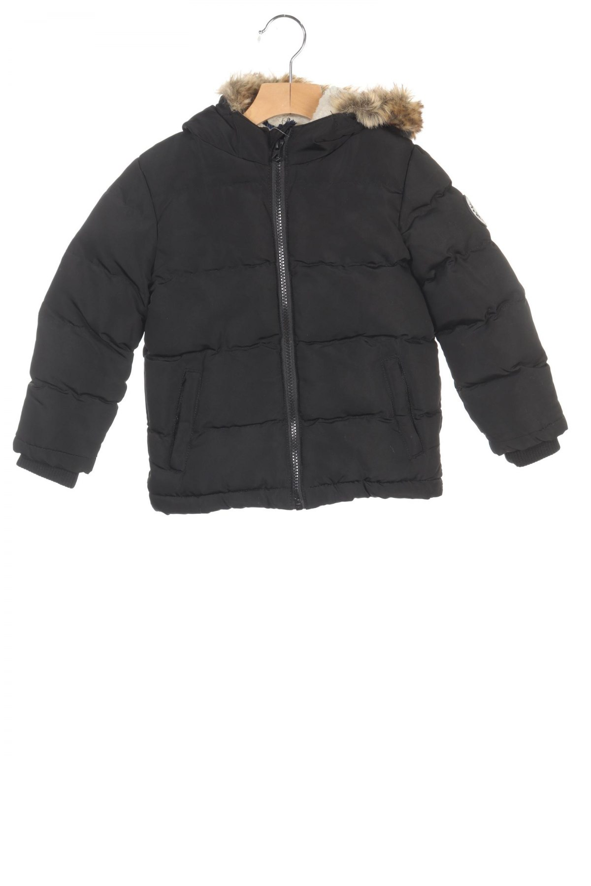 Детско яке Soulcal & Co, Размер 2-3y/ 98-104 см, Цвят Черен, Полиестер, Цена 54,60лв.