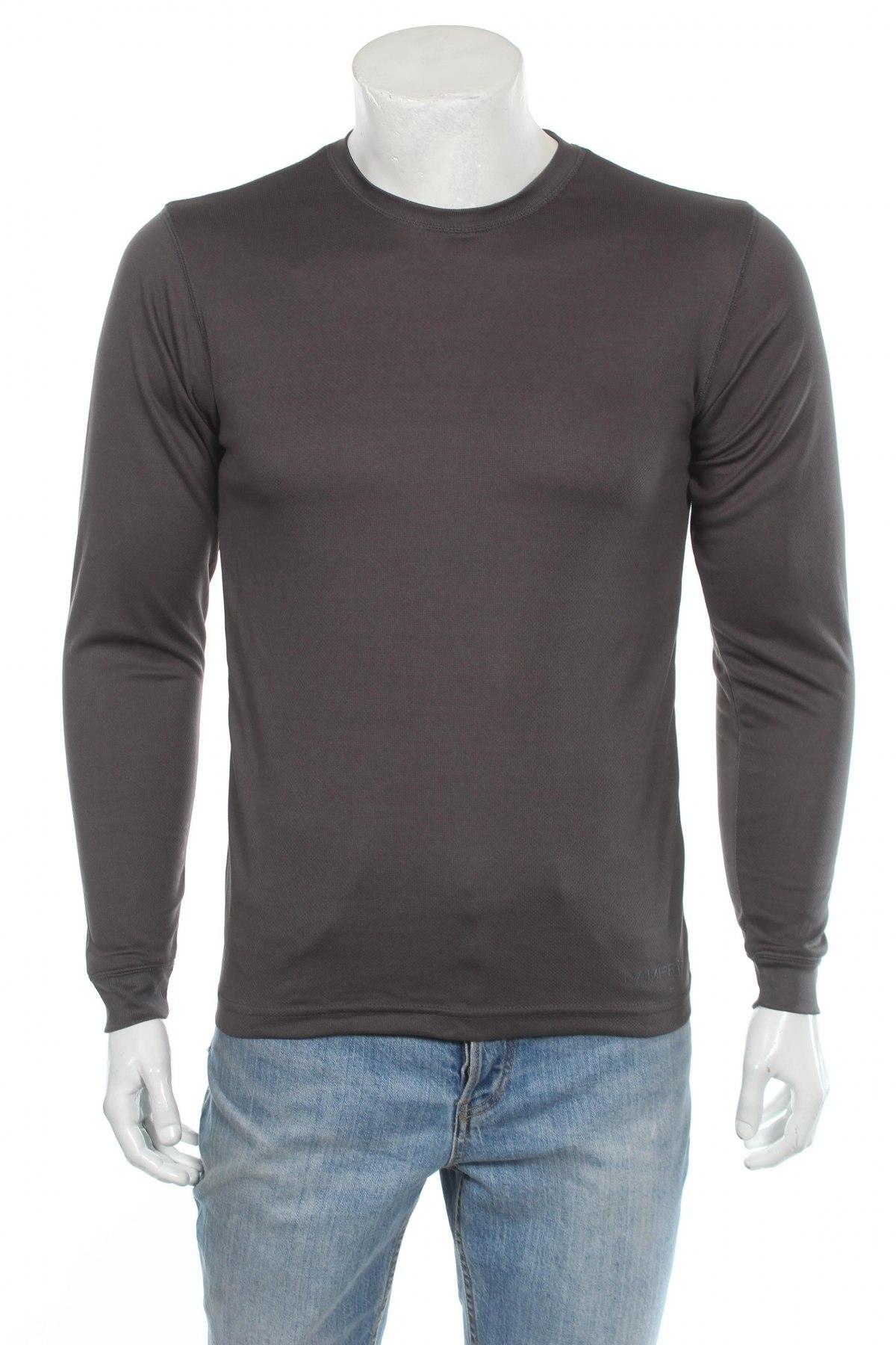 Мъжка спортна блуза Campri, Размер M, Цвят Сив, Полиестер, Цена 24,00лв.