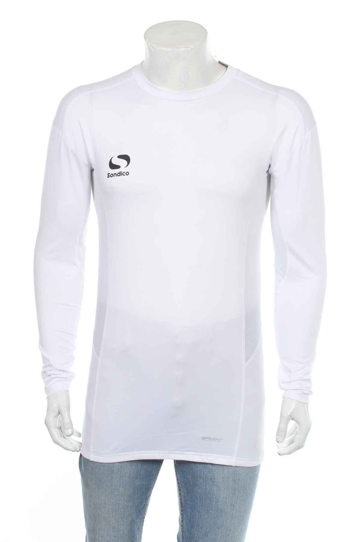 Мъжка спортна блуза Sondico, Размер XXL, Цвят Бял, 92% полиестер, 8% еластан, Цена 36,75лв.
