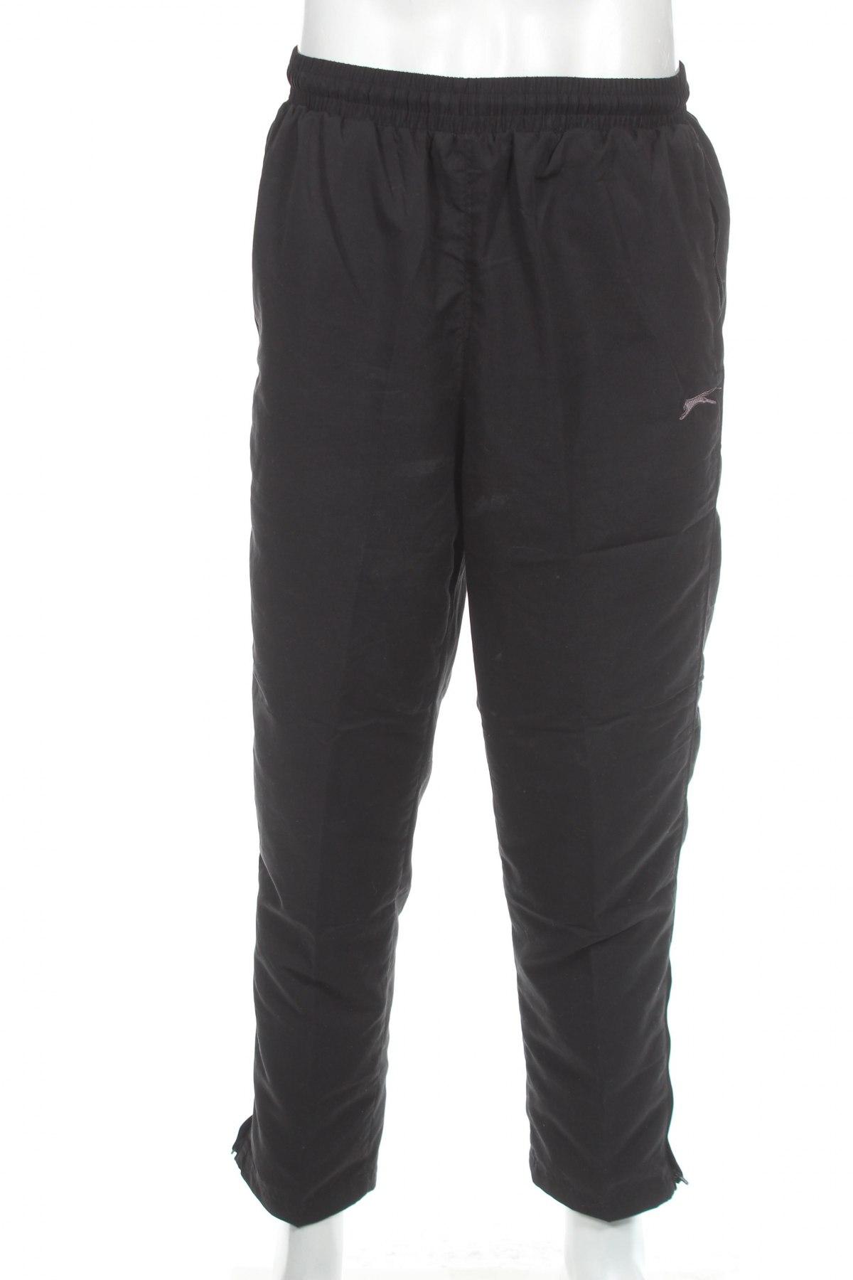 Мъжко спортно долнище Slazenger, Размер L, Цвят Черен, Полиестер, Цена 34,50лв.