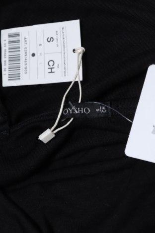 Боди Oysho, Размер S, Цвят Черен, 95% памук, 5% еластан, Цена 17,15лв.