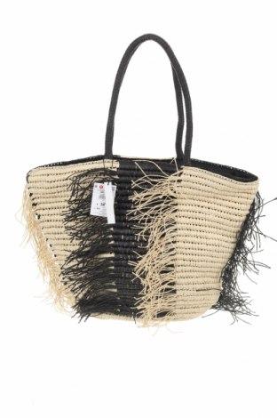 Τσάντα Reserved, Χρώμα Μαύρο, Άλλα υφάσματα, Τιμή 22,40€
