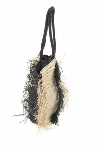 Τσάντα Reserved, Χρώμα Μαύρο, Άλλα υφάσματα, Τιμή 30,54€