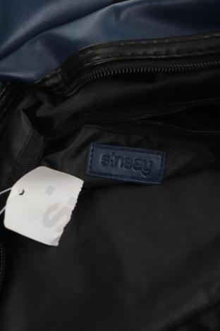 Чанта Sinsay, Цвят Син, Еко кожа, Цена 19,47лв.