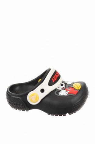 Чехли Crocs, Размер 19, Цвят Черен, Полиуретан, Цена 38,35лв.