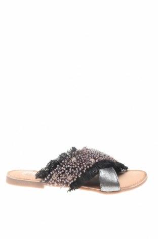 Чехли Gioseppo, Размер 37, Цвят Черен, Текстил, Цена 22,08лв.