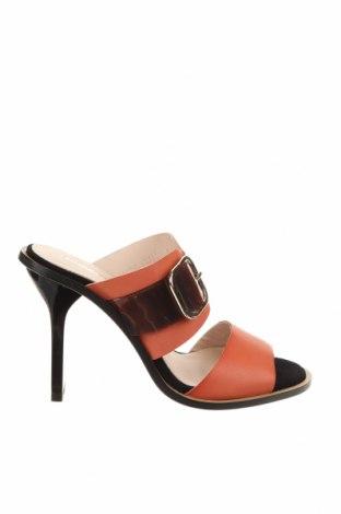 Γυναικείες παντόφλες Hannibal Laguna, Μέγεθος 35, Χρώμα Πορτοκαλί, Γνήσιο δέρμα, δερματίνη, Τιμή 46,76€