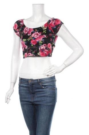 Дамска блуза Charlotte Russe, Размер M, Цвят Многоцветен, 95% полиестер, 5% еластан, Цена 17,96лв.