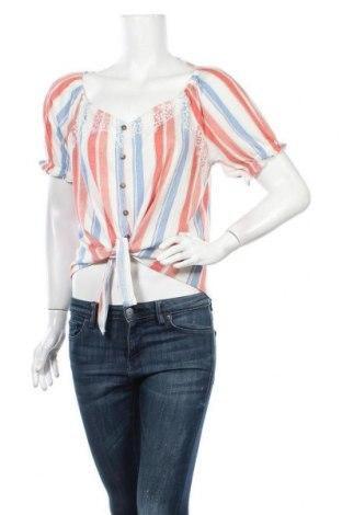 Дамска блуза Almost Famous, Размер XL, Цвят Многоцветен, 95% полиестер, 5% еластан, Цена 10,92лв.