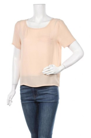 Дамска блуза American Vintage, Размер S, Цвят Бежов, Полиестер, Цена 8,93лв.