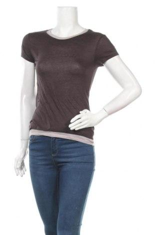 Дамска блуза American Vintage, Размер S, Цвят Сив, 100% памук, Цена 28,35лв.