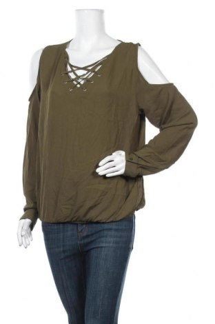 Γυναικεία μπλούζα Amisu, Μέγεθος XL, Χρώμα Πράσινο, Πολυεστέρας, Τιμή 11,69€