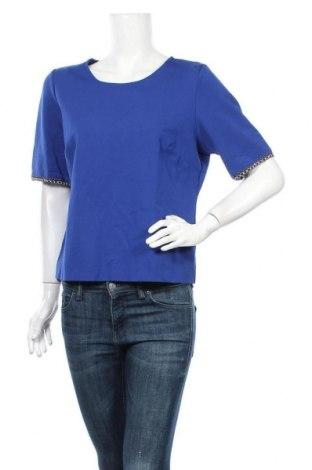 Дамска блуза Amy Vermont, Размер XL, Цвят Син, 62% вискоза, 33% полиамид, 5% еластан, Цена 7,88лв.