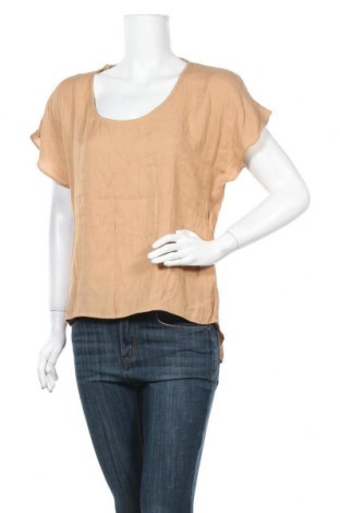 Дамска блуза Anne Weyburn, Размер XL, Цвят Бежов, 53% вискоза, 47% полиестер, Цена 9,56лв.