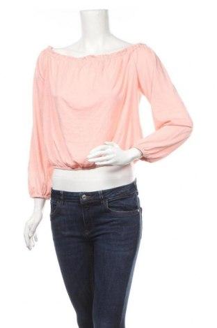 Γυναικεία μπλούζα Ardene, Μέγεθος L, Χρώμα Ρόζ , 65% πολυεστέρας, 35% βισκόζη, Τιμή 3,86€