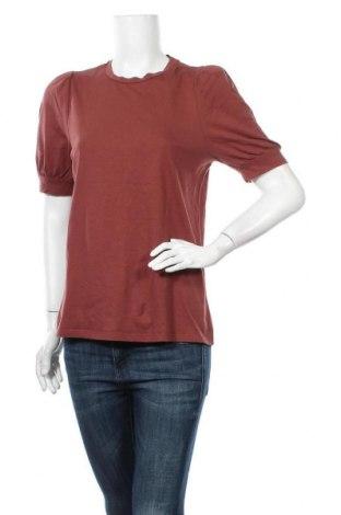 Γυναικεία μπλούζα Aware by Vero Moda, Μέγεθος L, Χρώμα Καφέ, Τιμή 4,09€