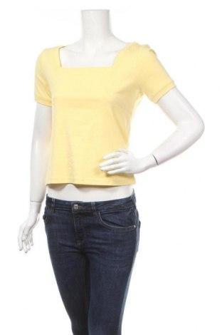 Дамска блуза B.C. Best Connections, Размер M, Цвят Жълт, Памук, Цена 9,45лв.