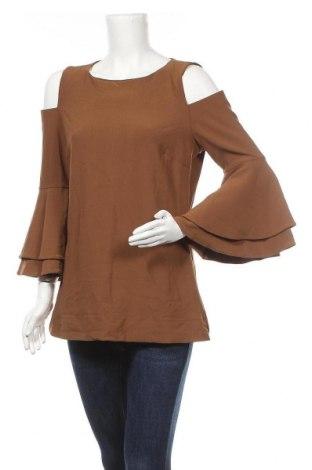 Γυναικεία μπλούζα Boston Proper, Μέγεθος M, Χρώμα Καφέ, 95% πολυαμίδη, 5% ελαστάνη, Τιμή 12,28€