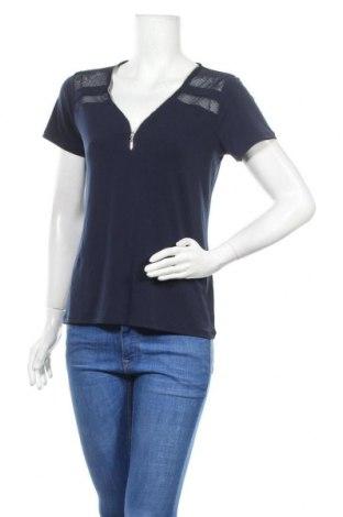 Γυναικεία μπλούζα Cache Cache, Μέγεθος M, Χρώμα Μπλέ, Τιμή 11,69€