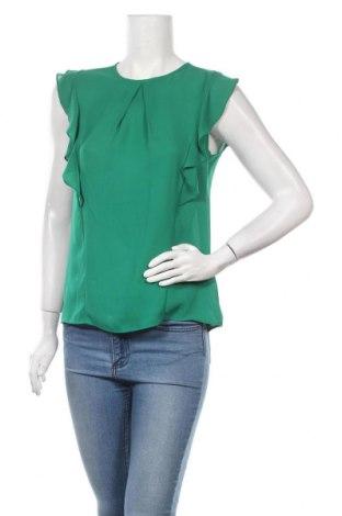 Дамска блуза Calliope, Размер S, Цвят Зелен, Полиестер, Цена 17,85лв.
