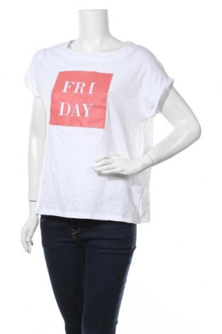 Дамска блуза Calliope, Размер M, Цвят Бял, Памук, Цена 14,28лв.