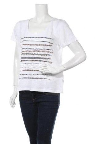 Γυναικεία μπλούζα Caroll, Μέγεθος XL, Χρώμα Λευκό, 50% βαμβάκι, 50% μοντάλ, Τιμή 20,98€