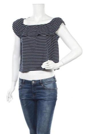 Дамска блуза Chicoree, Размер XS, Цвят Син, 50% памук, 50% модал, Цена 16,80лв.