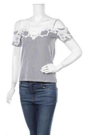 Дамска блуза Colours Of The World, Размер XS, Цвят Сив, Памук, Цена 16,07лв.