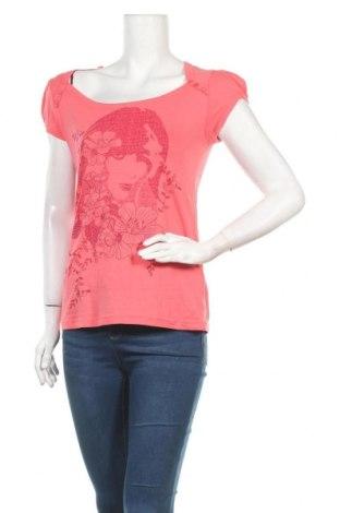 Дамска блуза Colours Of The World, Размер M, Цвят Розов, Памук, Цена 13,39лв.