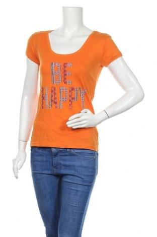 Дамска блуза Colours Of The World, Размер XS, Цвят Оранжев, Памук, Цена 4,46лв.