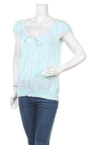 Дамска блуза Colours Of The World, Размер M, Цвят Син, Памук, Цена 4,41лв.