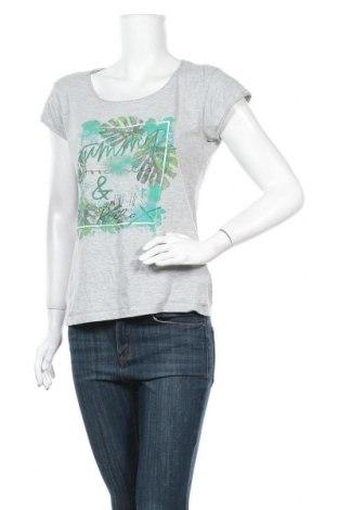 Дамска блуза Colours Of The World, Размер M, Цвят Сив, 95% памук, 5% еластан, Цена 10,71лв.