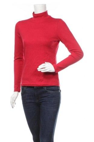 Дамска блуза Croft & Barrow, Размер S, Цвят Червен, 95% памук, 5% еластан, Цена 27,30лв.