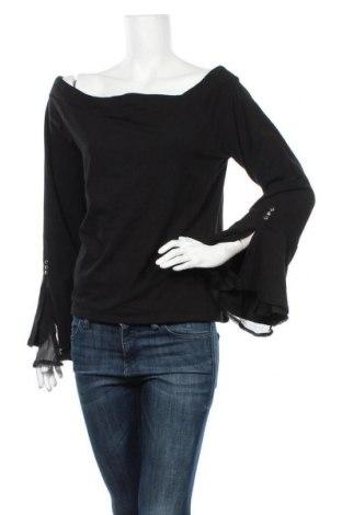 Дамска блуза Crossroads, Размер XXL, Цвят Черен, 95% памук, 5% еластан, Цена 44,10лв.