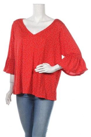 Дамска блуза Crossroads, Размер XL, Цвят Червен, 95% полиестер, 5% еластан, Цена 19,95лв.