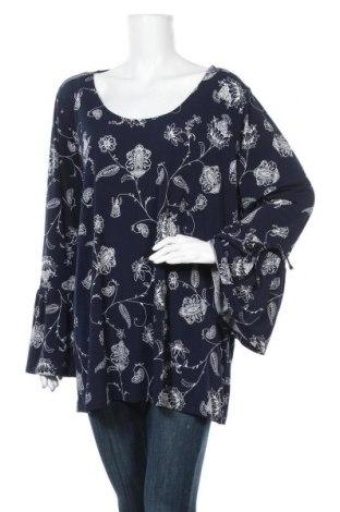 Дамска блуза Crossroads, Размер XXL, Цвят Син, 95% полиестер, 5% еластан, Цена 17,96лв.