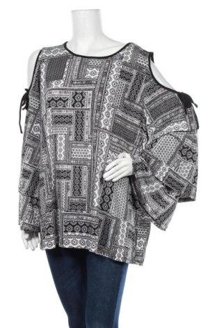 Дамска блуза Crossroads, Размер XXL, Цвят Черен, 95% полиестер, 5% еластан, Цена 36,75лв.