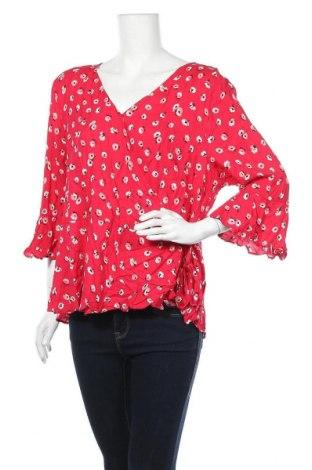 Дамска блуза Crossroads, Размер XXL, Цвят Розов, Вискоза, Цена 28,93лв.